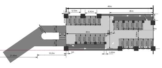 parkhaus ottis spur z seite. Black Bedroom Furniture Sets. Home Design Ideas